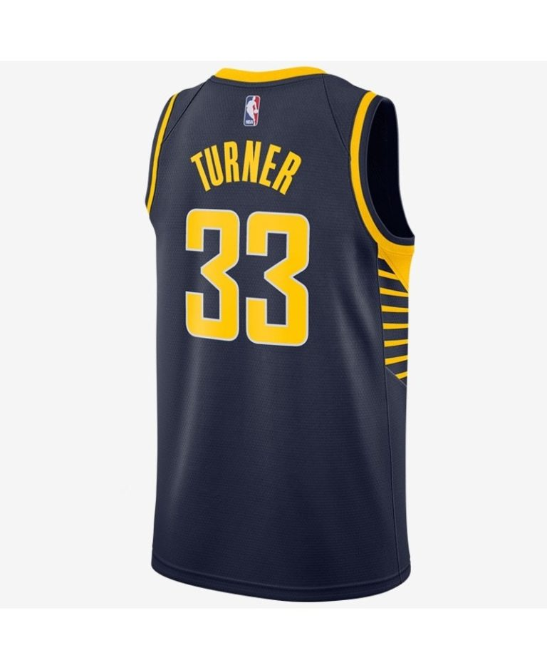CAMISETA MILES TURNER INDIANA PACERS NIKE SWINGMAN ICON